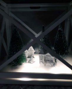 Weihnachtslaterne basteln