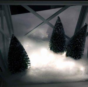 Weihnachtslaterne basteln Anleitung Nr 2